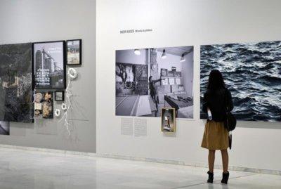 Presentación de la exposición Espais d´art Fundación Bancaja