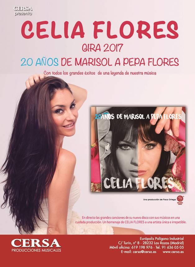 """Celia Flores """"20 años de Marisol a Pepa Flores"""""""