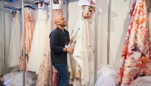 Alejandro Resta deslumbra en la Barcelona Bridal Fashion Week