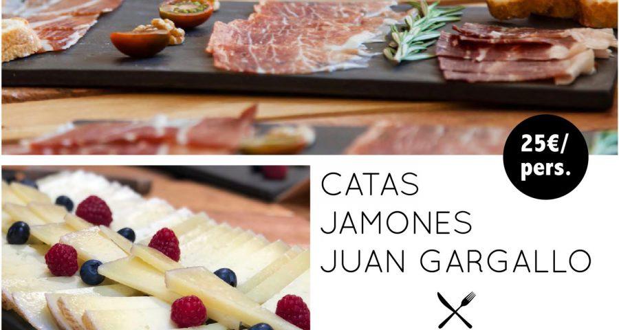 Sorteo cata Jamones Juan Gargallo