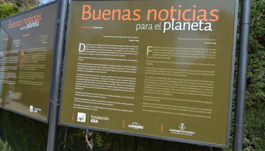Exposición 'Buenas noticias para el planeta' en Viveros