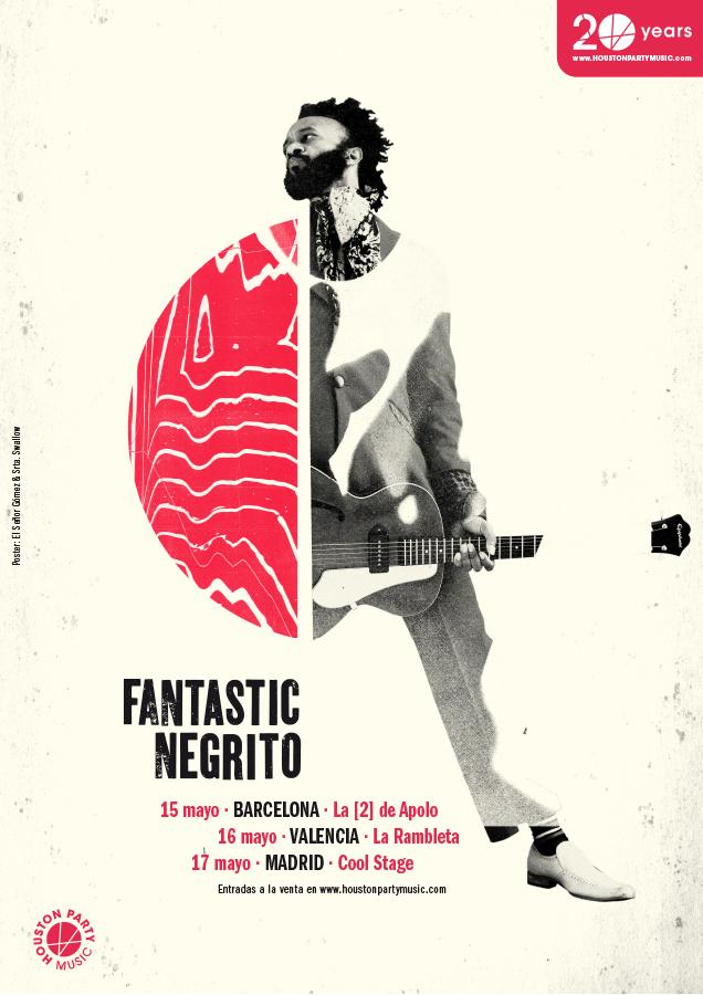 FANTASTIC NEGRITO llega a RAM Club en la Rambleta