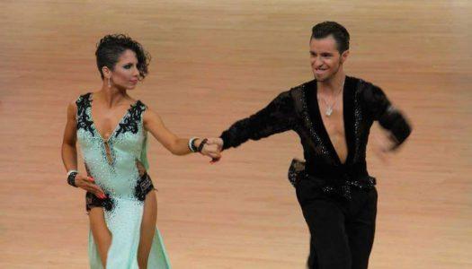 Jesús Blázquez y Sara Salvador nos hablan de su escuela de baile 'Pas a Pas' y su profesión: el baile deportivo