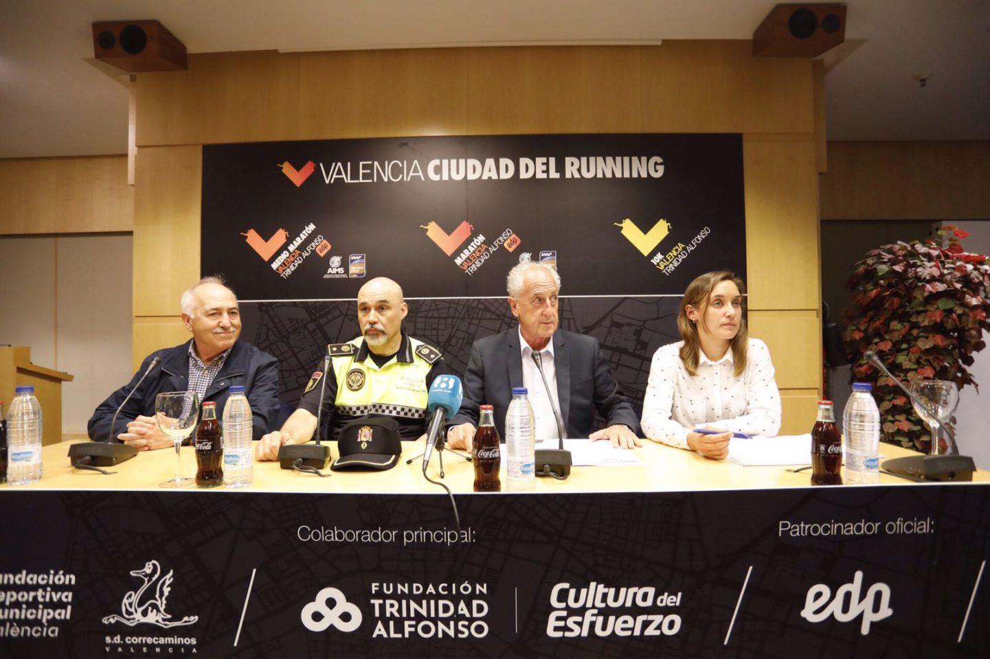 El Medio Maratón y Maratón de Valencia Cambian sus recorridos