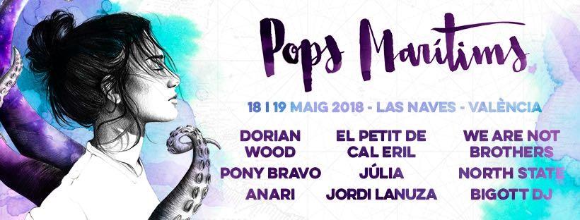 EL FESTIVAL POPS MARÍTIMS VUELVE A LA CARGA EN LA MUTANT