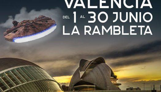 Expo-Wars trae a Valencia toda la magia de La Guerra de las Galaxias