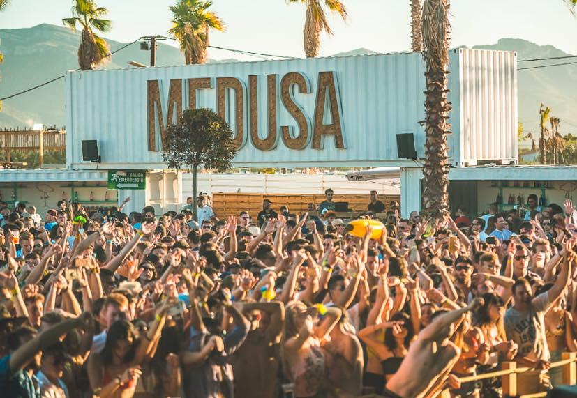 Medusa Beach Club, chiringuitos en Valencia