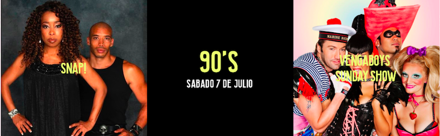 Cartelera 90's, Valencia Music Experience