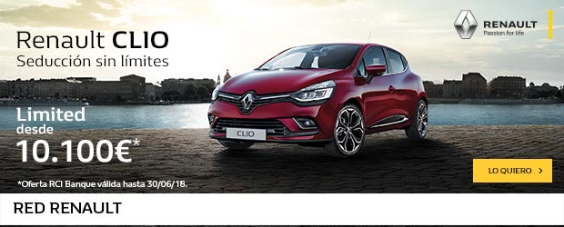 renault clio LIMITED 620×250