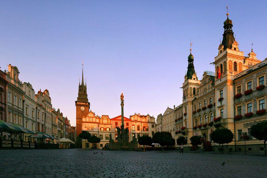 Vuelos con Rayanair a Pardubice
