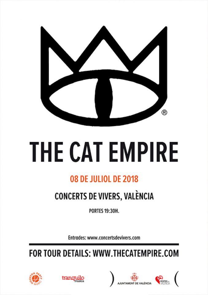 Concierto 8 julio, Jardines Viveros Valencia