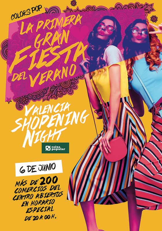 Valencia Shopening Night 2019