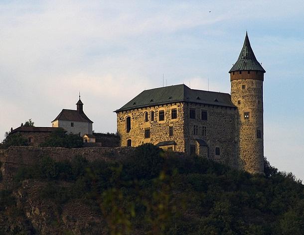 Castillo deKunětická hora