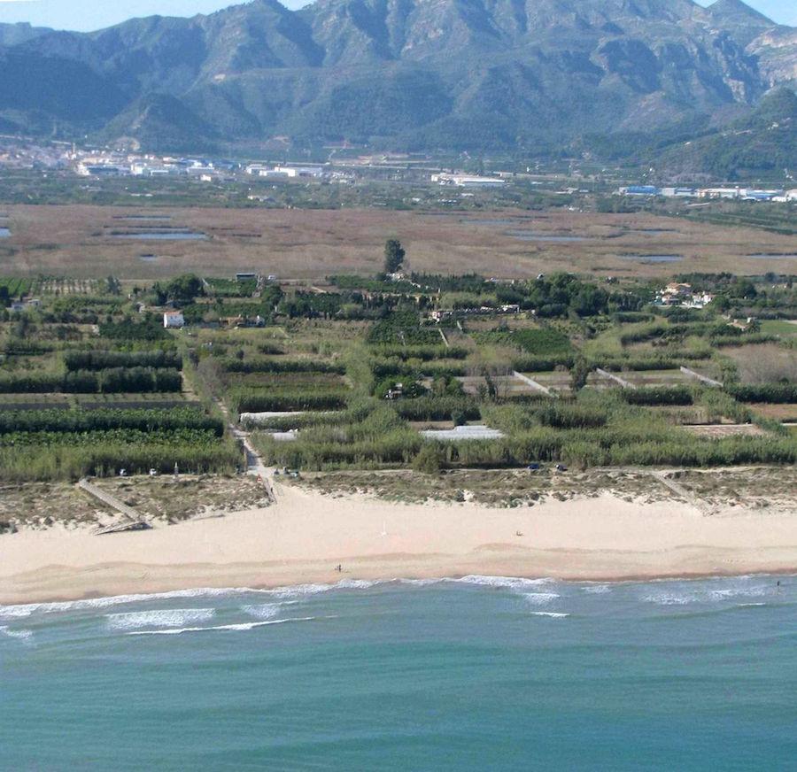 Playa de l'Ahuir, Gandia, Valencia