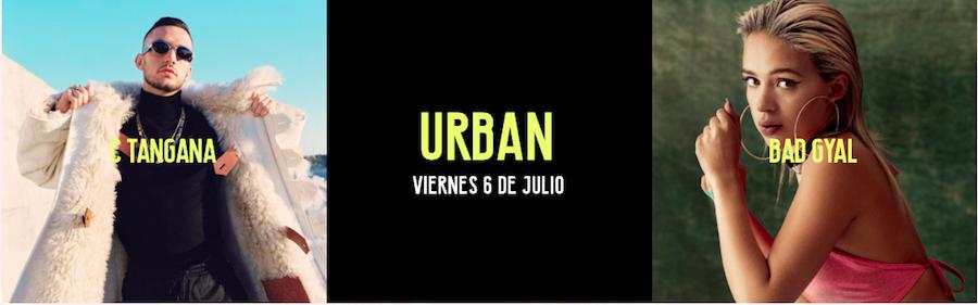 Cartelera Urban, Valencia Music Experience