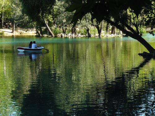 Albufera de Anna, zonas de río