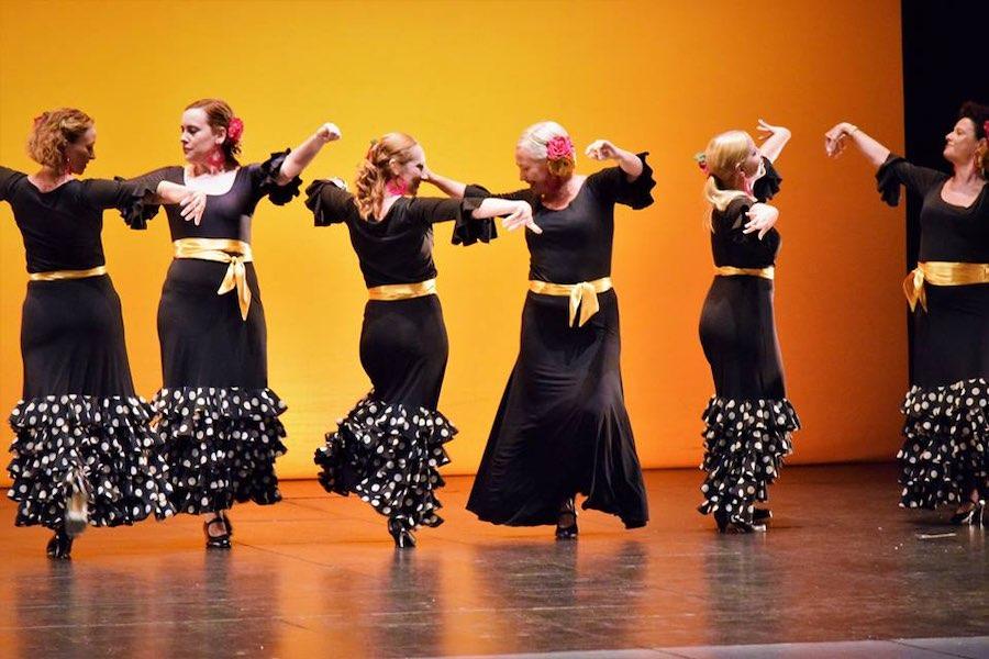 Rocío Giner, escuelas de baile