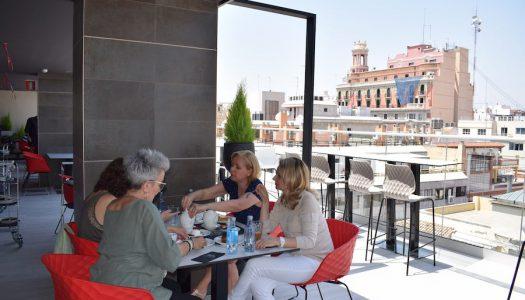 La Plaça Gastro Mercat, cocina valenciana en la espectacular azotea de El Corte Inglés de Colón