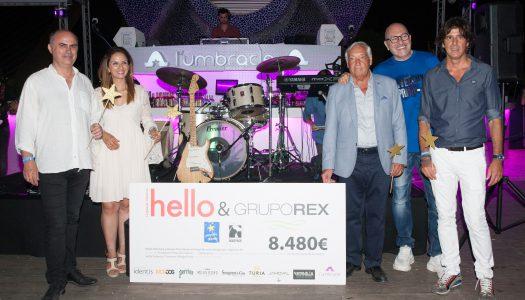 HELLO VALENCIA Y GRUPO REX RECAUDAN 8.480€ EN FAVOR DE FUNDACIÓN PEQUEÑO DESEO Y MODEPRAN EN LA SUMMER VILLAGE PARTY