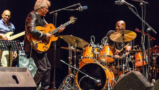 Jazz fusión de Ximo Tébar Band con Nathaniel Townsley