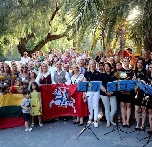 Lituania celebra su día nacional en Valencia
