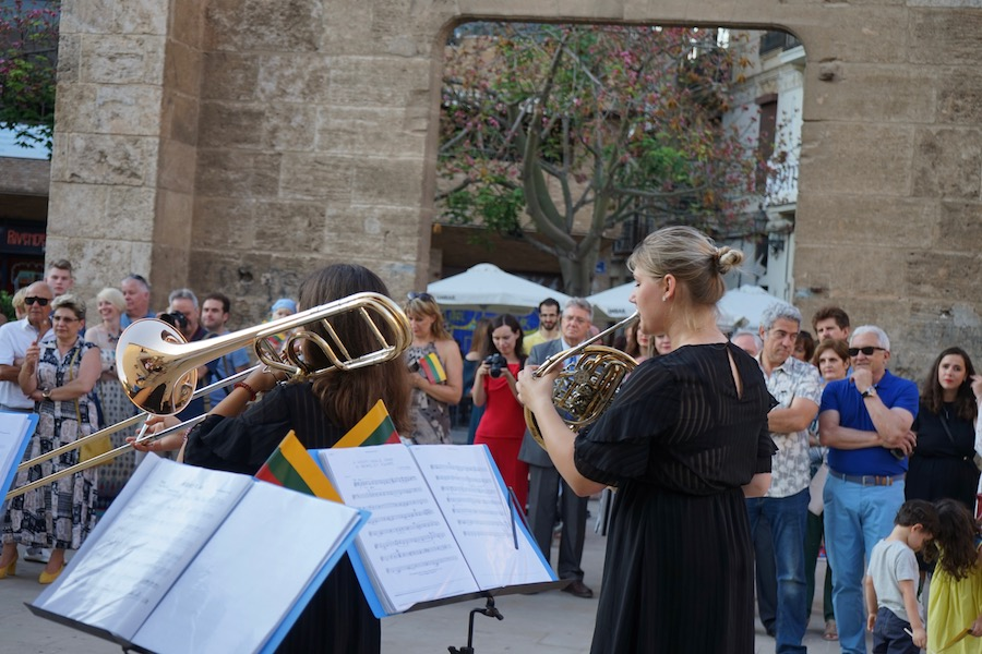 Concierto lituanos en Valencia