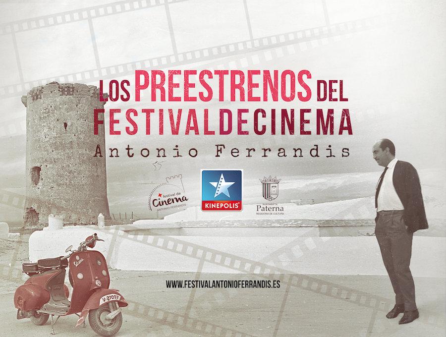 Los preestrenos del festival de cinema, Antonio Ferrandis, Kinepolis, Paterna