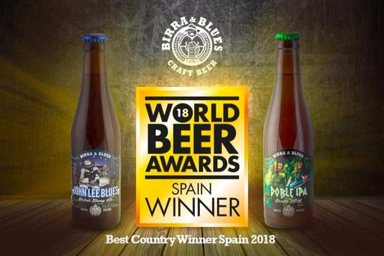 Birra & Blues obtiene dos galardones en los World Beer Awards de Londres