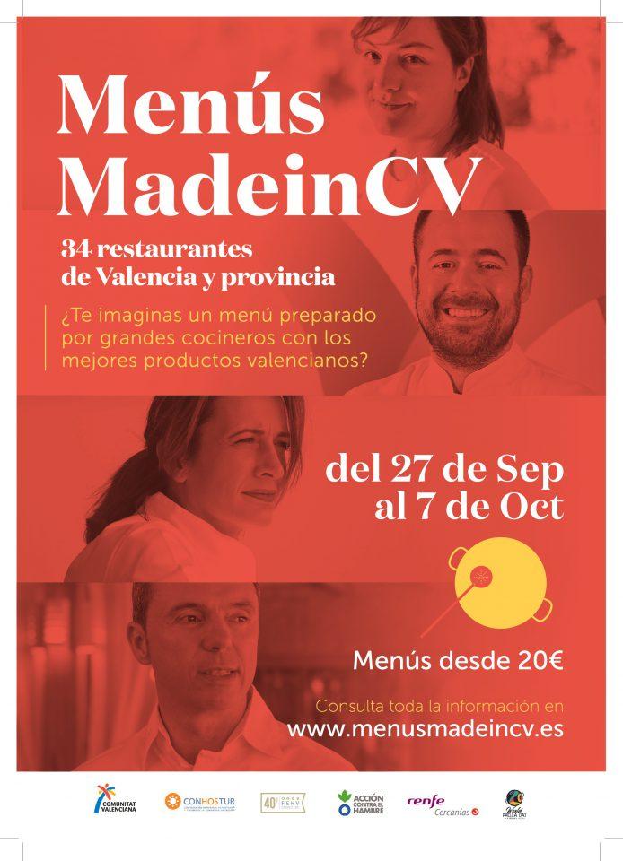 Las Jornadas Gastronómicas Menús MadeinCV