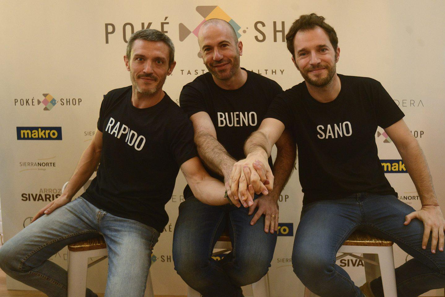 Los socios del proyecto Poké shop
