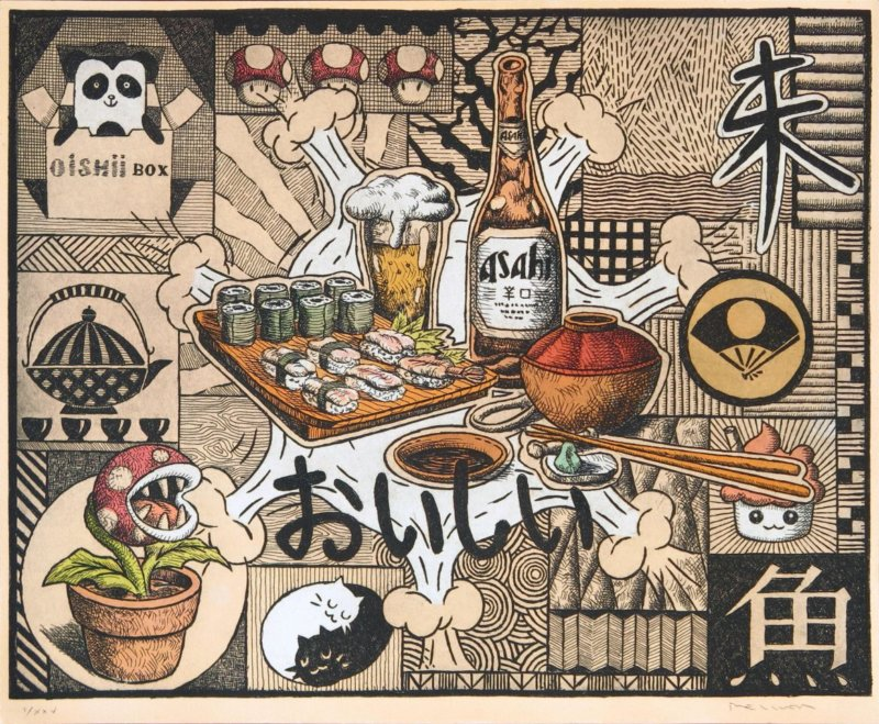 De las tabernas de Tokio al festival del libreo sinkokma