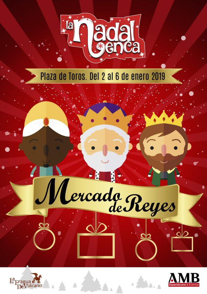 Mercado de reyes en la Plaza de Toros de Valencia