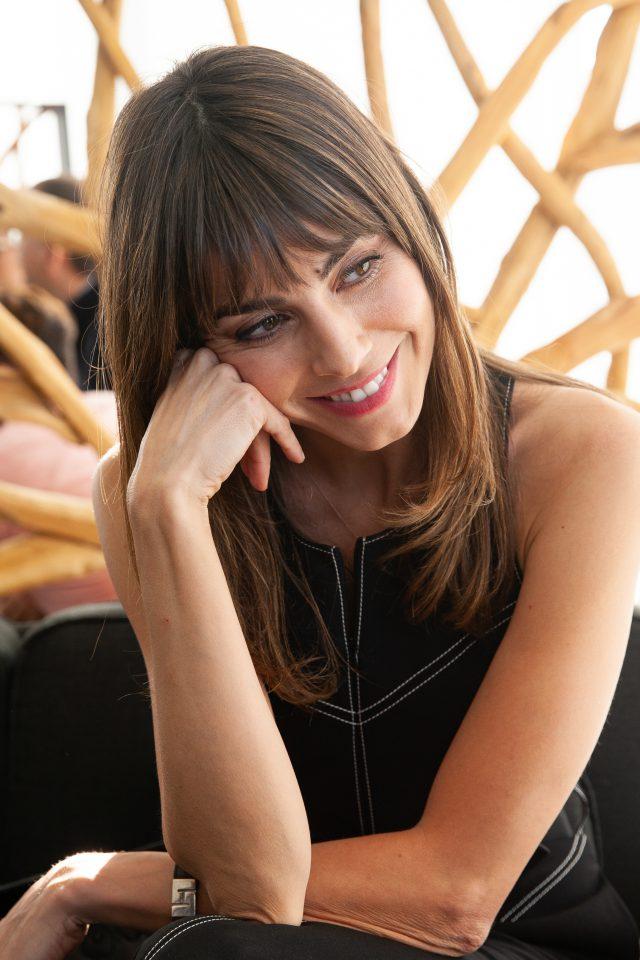Irene Arcos, protagonista de la serie El Embarcadero