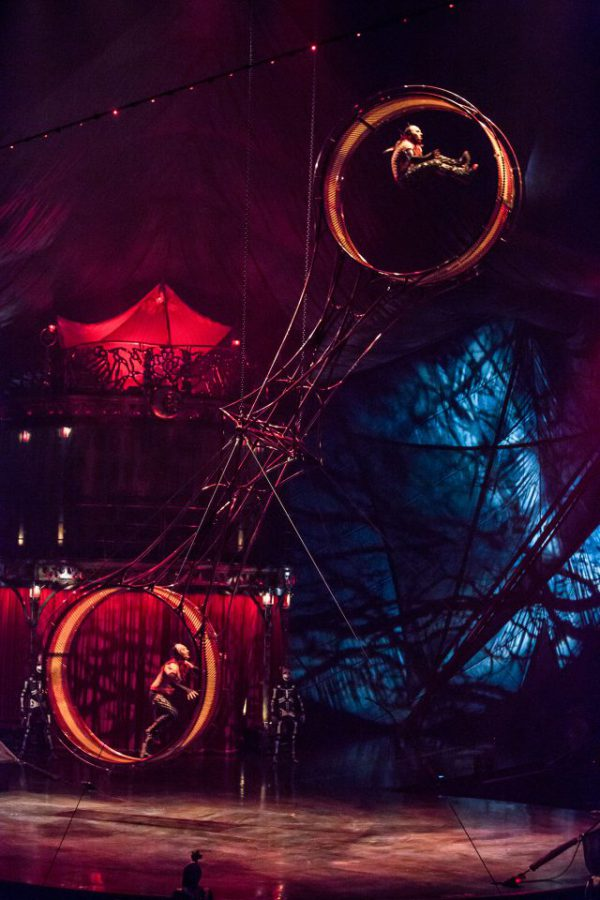 Cirque du Soleil, rueda de la muerte, KOOZA