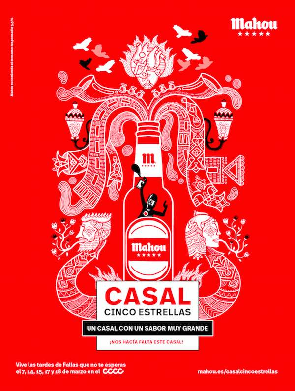 CASAL CINCO ESTRELLAS DE MAHOU