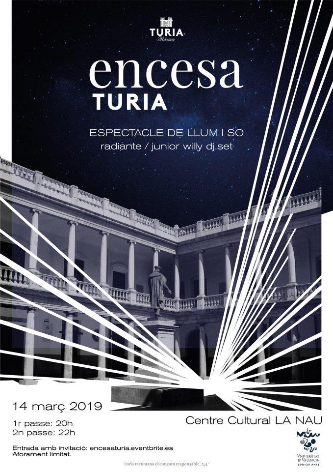 Cartel Encesa Turia