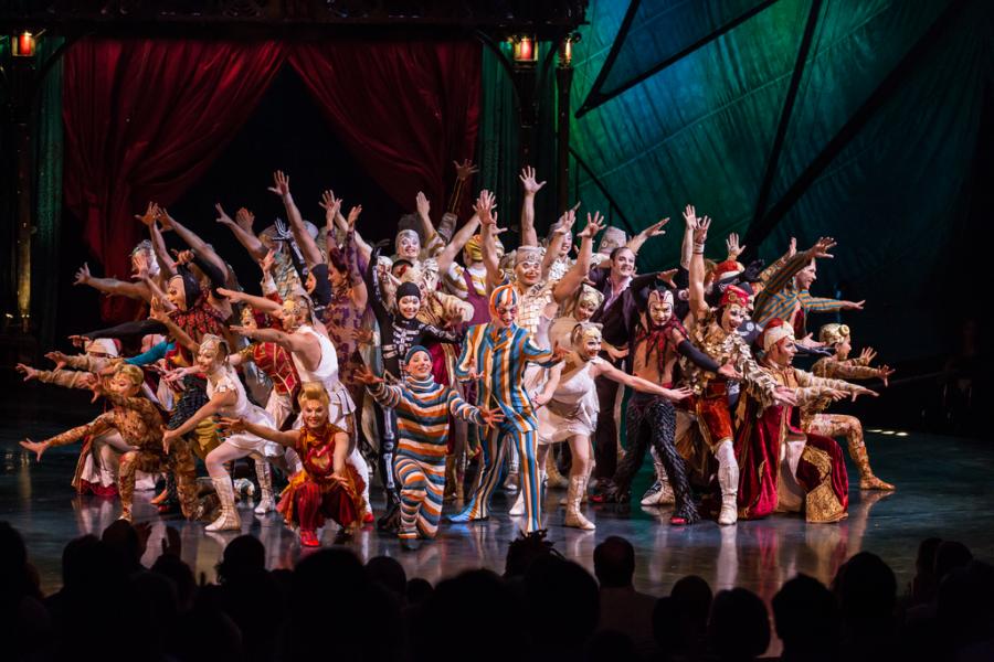 Cirque du Soleil, equipo artístico, KOOZA