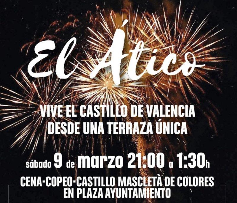 Donde ver el castillo de Valencia