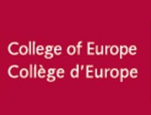 Tú Europa Beca: » Postgrado en el Colegio de Europa en Brujas»
