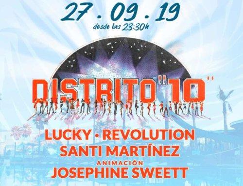 Reencuentro Distrito 10 viene a Marina Beach Club Valencia en septiembre