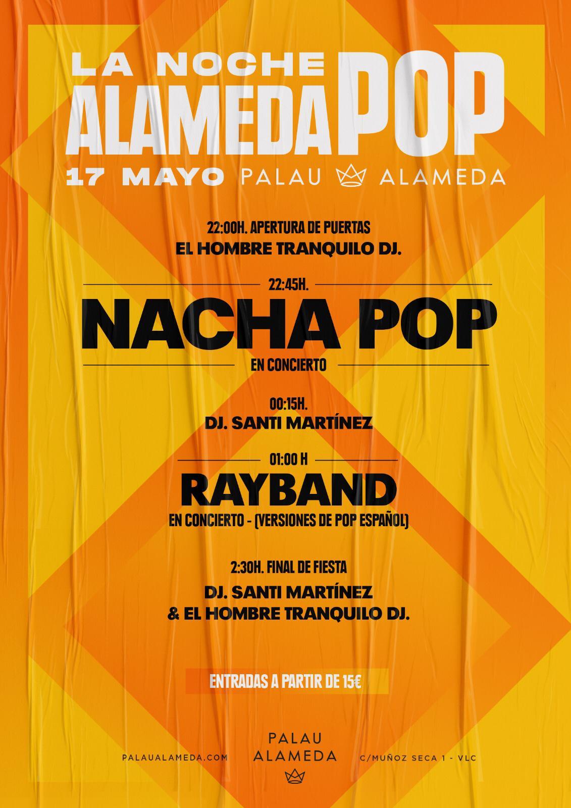 Nacha Pop en Palau Alameda
