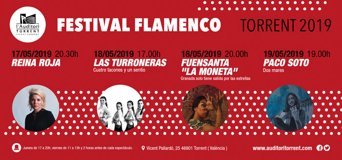 EL FLAMENCO LLEGA AL AUDITORIO DE TORRENT