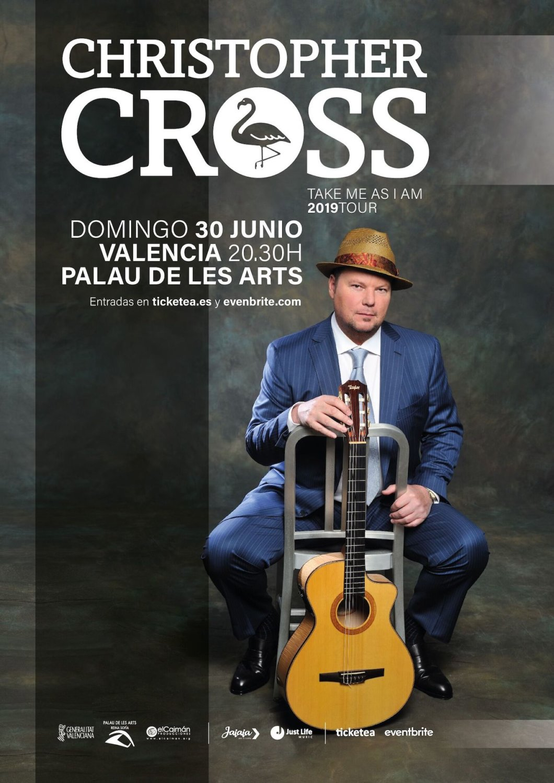 Christopher Cross presenta su último disco en el Palau de les Arts de València
