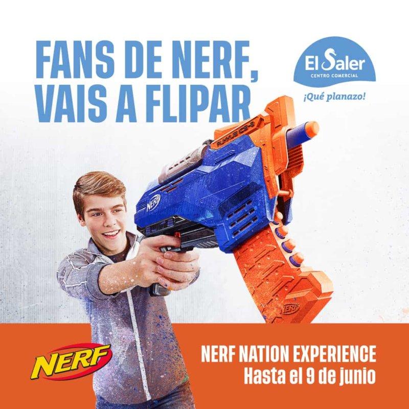 El Saler se convierte en la nueva Nerf Nation Experience