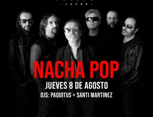 Concierto de Nacha Pop en Javea, compra aquí tus entradas