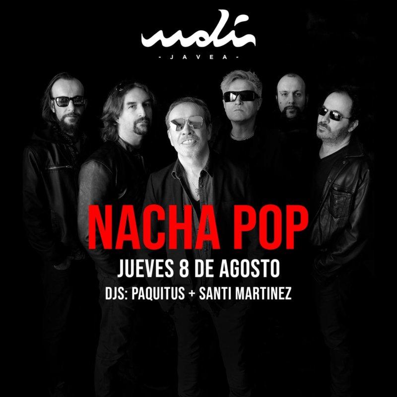 Nacha Pop en Jávea
