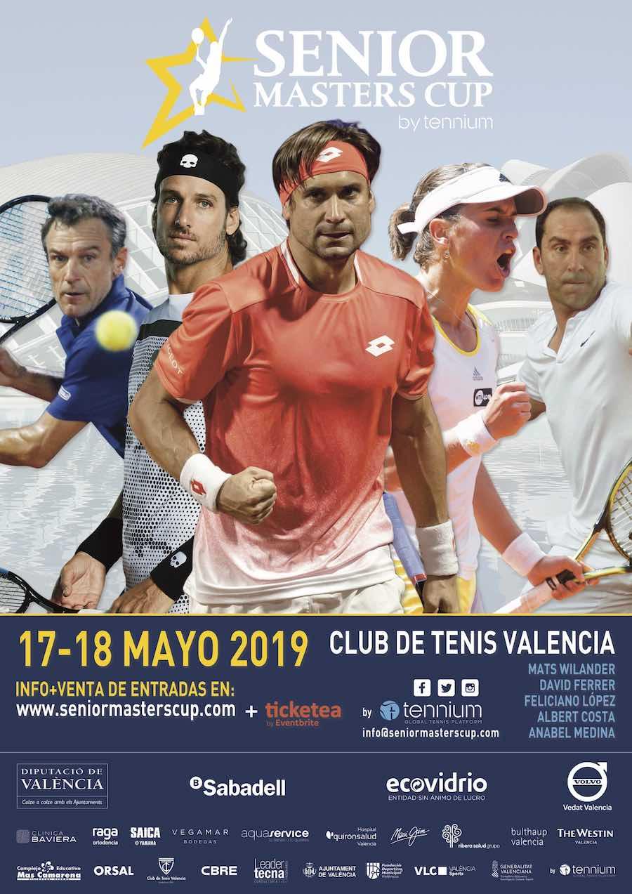 15 días para el primer saque de la Senior Masters Cup de Valencia