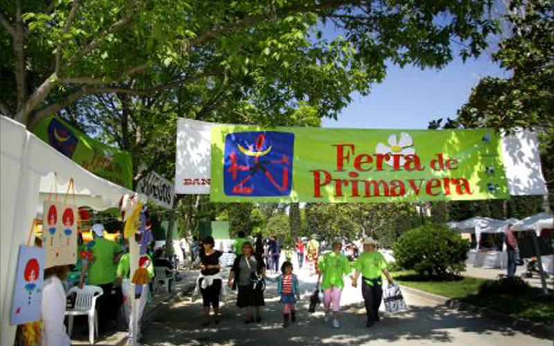 Los Jardines de Viveros escenario de la Feria Primavera
