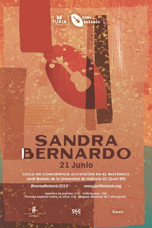 Sandra Bernardo en Sons al Botànic 2019