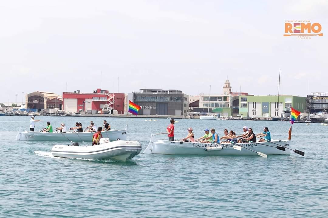 I Jornada Remo y Diversidad en la Marina de València